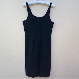 Theory Black HALYN Pleat Dress New With Tags